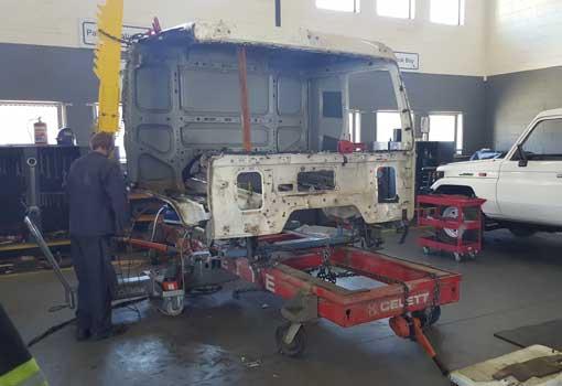 KJF Trucks Rebuild Centre Boiler Making